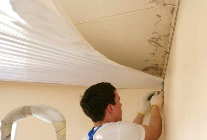 Натяжные потолки своими руками материалы
