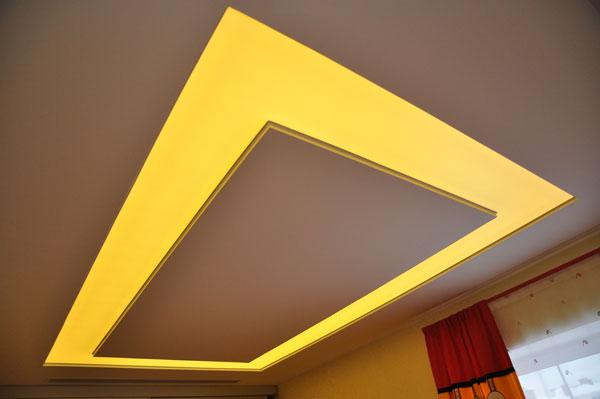 Освещение для натяжного потолка
