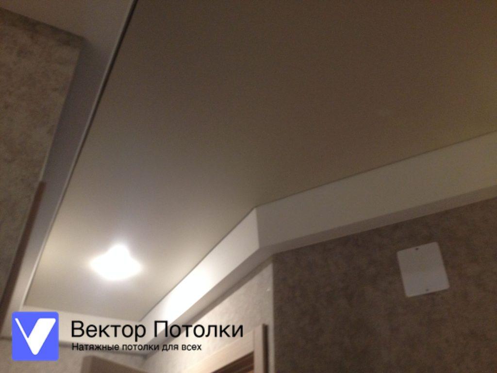 цветной натяжной потолок в прихожей