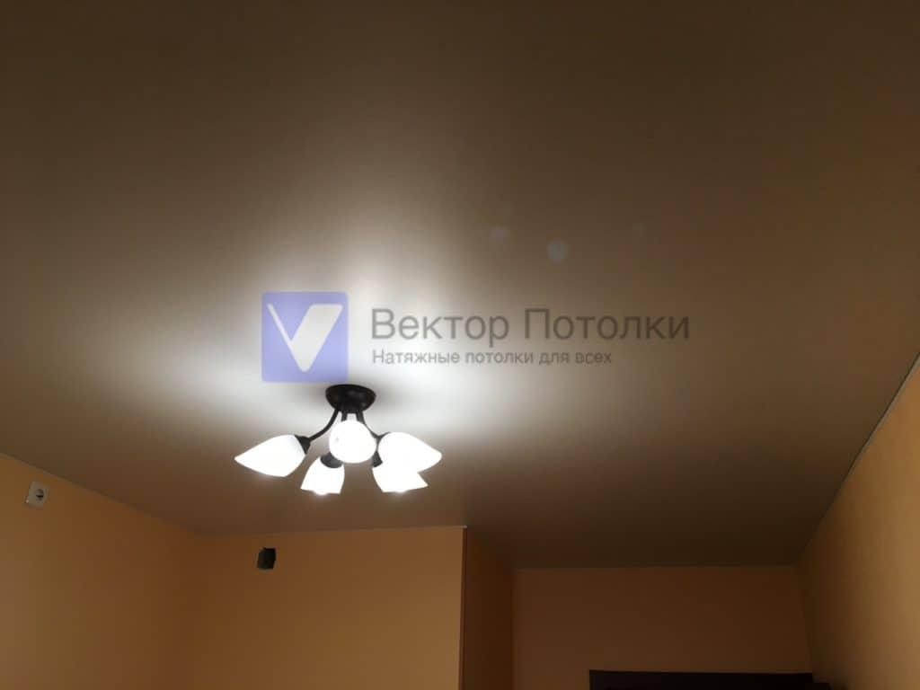 матовый потолок на кухне